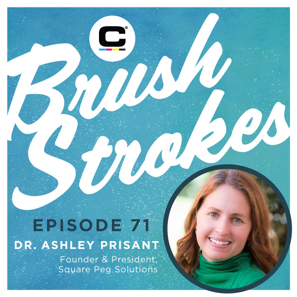 Brush Strokes Episode 71 - Dr Ashley Prisant